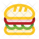 Veg Sandwich Icon