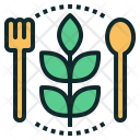 Vegan Vegetarian Plant Icon