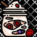 Vegan Yogurt Icon