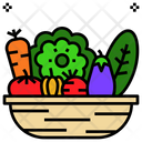 Vegetable Natural Organic Icon