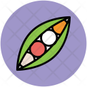 Vegetable Peas Legume Icon