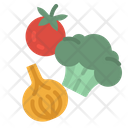 Vegetable Vegan Vegetarian Icon