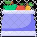 Vegetable Bag Icon