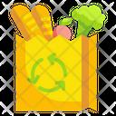 Vegetable Bag Vegetable Plastic Free Icon