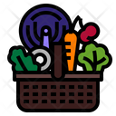 Basket Food Grocery Icon