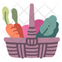 Vegetable Basket Icon