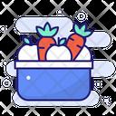 Vegetable Basket Icon