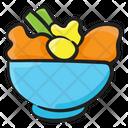 Vegetable Bowl Icon