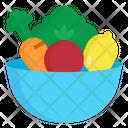 Vegetable Bowl Food Icon