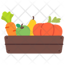 Vegetable Bucket Icon
