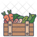 Vegetable Crate Crate Box Icon