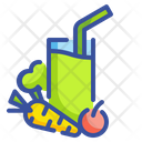 Vegetable Juice Drink Icon
