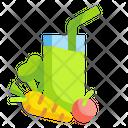 Vegetable Juice Drink Icon