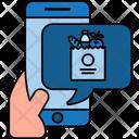 Vegetable Online Shop Vegetable Shopping Cart Icon
