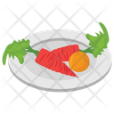 Vegetable Plate Icon