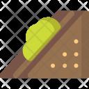 Vegetable Sandwich Icon