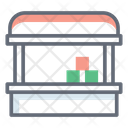 Vegetable Shop Vegetable Store Vegetable Cart Icon