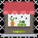 Vegetable Shop Vegetable Store Vegetable Market Icon