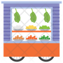 Vegetable Stall Icon