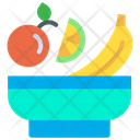 Vegetables Fruits Healthy Food Icon