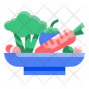 Vegetable Food Slad Icon