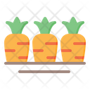 Vegetables Carrot Carrot Farm Icon