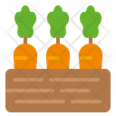 Vegetables Carrot Food Icon