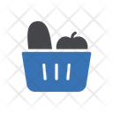 Vegetables Fruit Basket Icon
