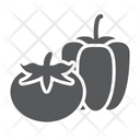 Vegetables Bell Pepper Tomato Product Supermarket Department Icon