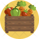 Vegetables Carrot Pepper Icon