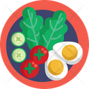 Salad Vegetables Cherry Tomatoes Icon