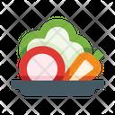 Vegetables Salad Food Icon