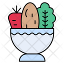 Vegetables Basket Icon