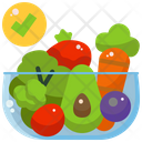 Fruit Vegan Vegetables Icon