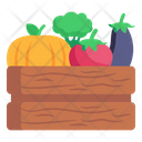 Vegetables Crate Icon