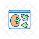 Vegetables In Container Icon