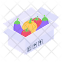 Vegetables Box Vegetables Crate Vegetables Package Icon