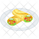 Vegetables Shawarma Platter Icon