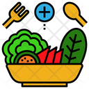 Vegetarian Food Diet Icon