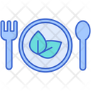 Vegetarian Food Indian Icon