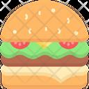 Veggie Burger Veg Burger Burger Icon