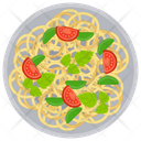 Veggie Noodles Vegetable Noodles Spaghetti Icon