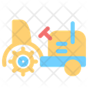 Farming Vehicle Agriculture Icon