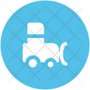 Vehicle Tractor Farm Icon