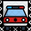 Vehicle Car Hospital Icon
