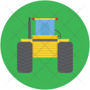 Vehicle Machinery Construction Icon