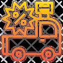 Car Digital Branding Icon