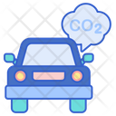 Vehicle Emission Control Icon