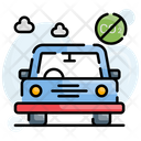 Vehicle Emission Control Icon