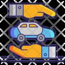 Vehicle Leasing Icon